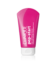 Clinique Pep Start™ 2-in-1 Exfoliating Cleanser